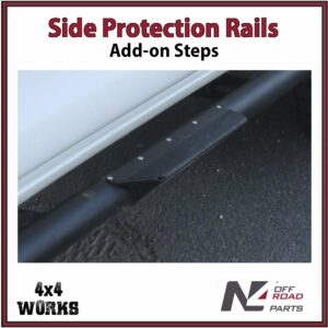 N4 Side Steps for Protection Rails & Rock Sliders