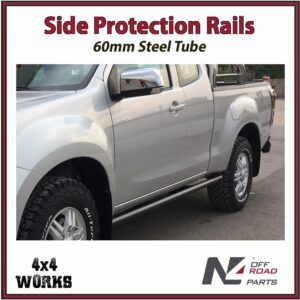 N4 Side Protection Rails Rock Sliders Isuzu D-Max 2012-20
