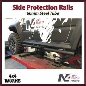 N4 Side Protection Rails Rock Sliders Suzuki Jimny 2018-on