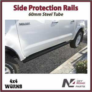 N4 Side Protection Rails Rock Sliders Toyota Hilux Vigo 2005-15