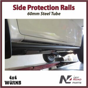N4 Side Protection Rails Rock Sliders Toyota Hilux Revo 2015-on