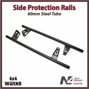N4 Side Protection Rails Rock Sliders Toyota Land Cruiser Prado 150 155 Series 2009-on 3 & 5 Door