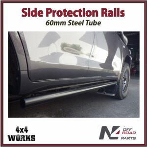 N4 Side Protection Rails Rock Sliders Toyota Land Cruiser 200 Series 2007-on