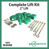 Van Compass Lift Kit Mercedes-Benz Sprinter Series 2 2006-18 2″ 50mm