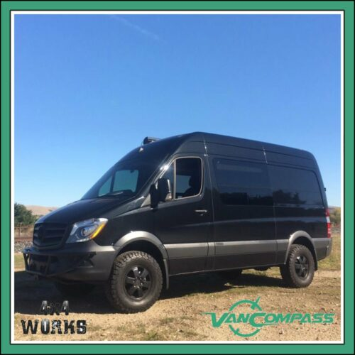 "Van Compass Lift Kit Volkswagen Crafter VW Series 1 2006-17 2"" 50mm"