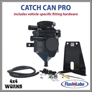 Flashlube Catch Can Pro Mitsubishi Shogun Pajero V80 2017-on Filter Kit