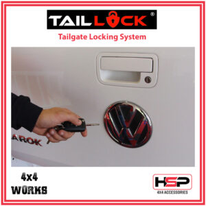HSP Tail Lock Volkswagen VW Amarok 2010-on Tailgate Central Locking
