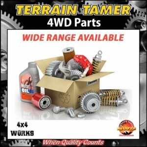 Terrain Tamer 4WD Upgrade Mechanical Parts