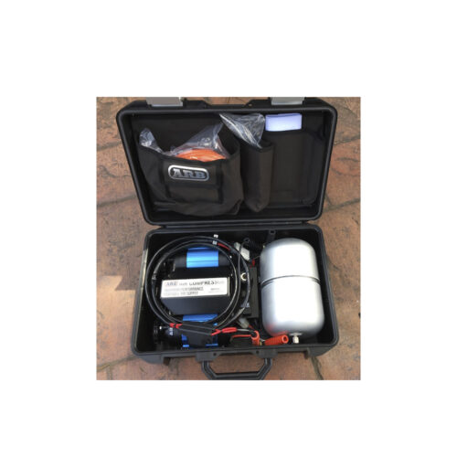 ARB Twin Portable Air Compressor with Carry Case & Tank 12v