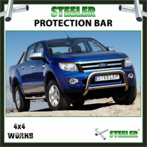 Steeler Stainless Steel A Bar Ford Ranger PX 2011-15 Front Protection