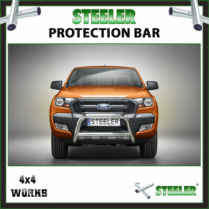 Steeler Stainless Steel A Bar Ford Ranger PX2 2015-19 Front Protection