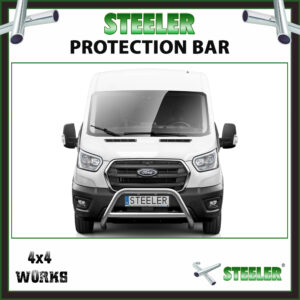 Steeler Stainless Steel A Bar Ford Transit 2019-on Front Protection