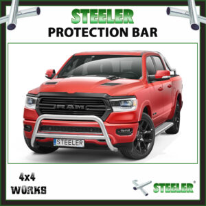 Steeler Stainless Steel A Bar Dodge Ram 2019-on Front Protection