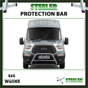 Steeler Stainless Steel A Bar Ford Transit 2013-17 Front Protection