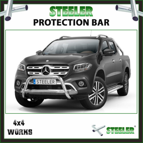 Steeler Stainless Steel A Bar Mercedes-Benz X-Class 2017-on Front Protection
