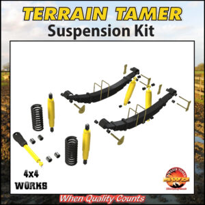 Terrain Tamer Suspension Kit Toyota Land Cruiser HZJ71 74 1999-on