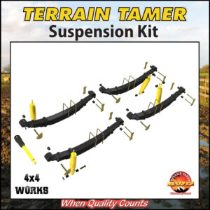 Terrain Tamer Suspension Kit Toyota Land Cruiser HZJ77 1990-on