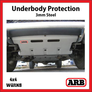 ARB Underbody Protection Kit UVP Mitsubishi L200 2005-15 ML MN Bash Skid Plate