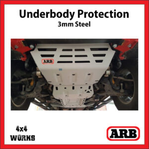 ARB Underbody Protection Kit UVP Mitsubishi L200 2015-on MQ MR Bash Skid Plate