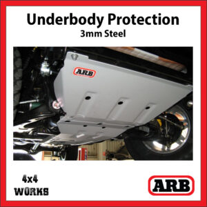 ARB Underbody Protection Kit UVP Isuzu D-Max 2008-12 Bash Skid Plate