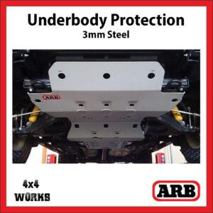 ARB Underbody Protection Kit UVP Isuzu D-Max 2012-19 Bash Skid Plate