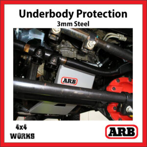 ARB Underbody Protection Kit UVP Jeep Wrangler 2007-11 JK Bash Skid Plate - Petrol