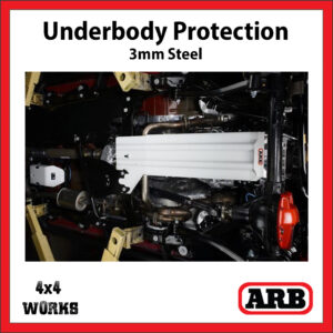 ARB Underbody Protection Kit UVP Jeep Wrangler 2007-18 JK Bash Skid Plate - Pentastar V6