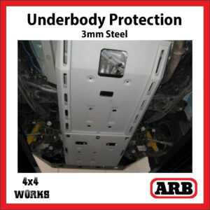 ARB Underbody Protection Kit UVP Volkswagen VW Amarok 2010-17 Bash Skid Plate