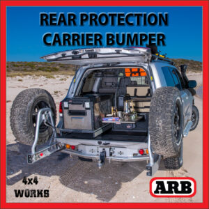 ARB Rear Protection Step Tow Bar Bumper and Accessory Carriers Toyota Land Cruiser 200 Series 2007-on