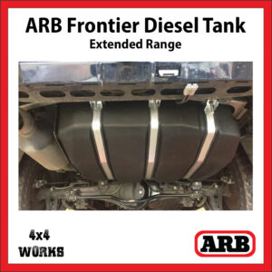 ARB Frontier Long Range Extended Diesel Fuel Tank Toyota Land Cruiser 200 Series 2007-on