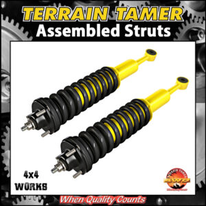 Terrain Tamer Pre-Assembled Struts and Coil Springs Toyota Land Cruiser Prado 120 150 Series 2002-on Shock Absorbers