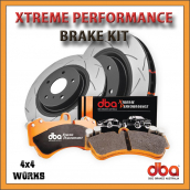 DBA Xtreme Performance Toyota Hilux Series 7 Brake Kit 2005-15
